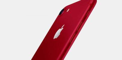 RED iPhone 7 128GB Smartphone Giveaway header