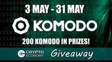 Up to 100 KMD (Komodo) Cryptocurrency