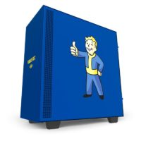NZXT Vault Boy PC Case and Motherboard Cover