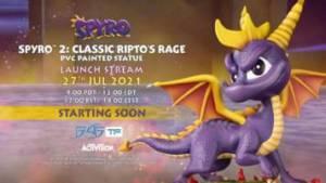 Spyro 2: Exclusive Edition PVC Statue