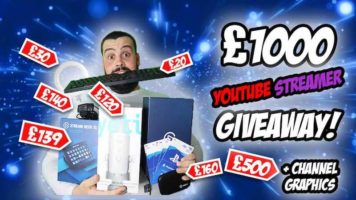 Prizes for Streamers/YouTubers