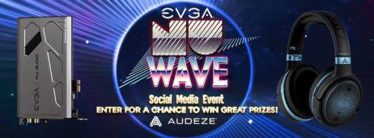 Audeze Mobius Headphones or EVGA NU Audio Card