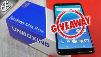 ASUS Zenfone Max Pro Smartphone Giveaway header