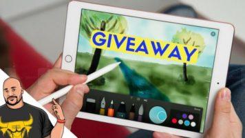 Apple iPad & Apple Pencil Giveaway header