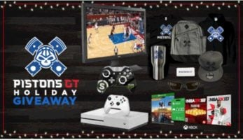 Pistons GT Holiday Giveaway header