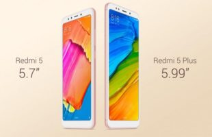 Xiaomi Redmi 5 Plus and Redmi 5 header