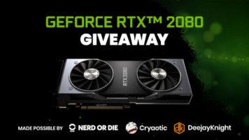 GeForce RTX 2080 GPU Giveaway header