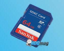 Sandisk 64gb SD Card Giveaway header