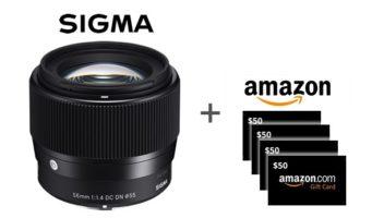 Sigma 56mm 1.4 DC DN Contemporary Lens