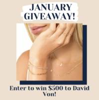 $500 David Von Gift Card