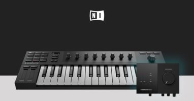 Native Instruments M32 Micro Keyboard and Audio 2 Interface