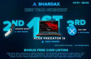 Acer Predator 15 Gaming Laptop and Cryptocurrency prizes