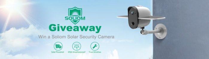Soliom S60 Solar Outdoor Security Camera