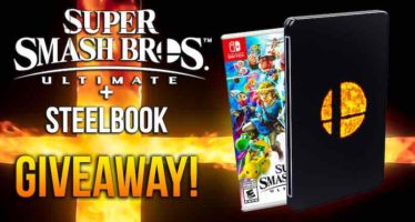 Super Smash Bros Ultimate and Steelbook Cover