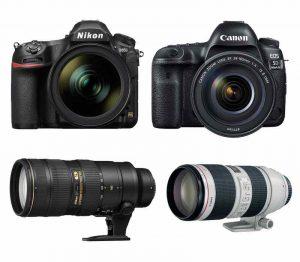 Choice of Camera or Camera Lens