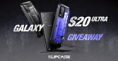 Galaxy S20 Ultra and A SUPCASE of Your Choice