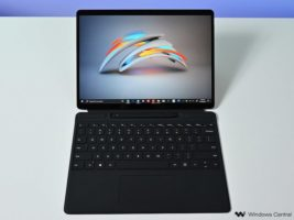 Surface Pro X, Signature Keyboard, and Slim Pen