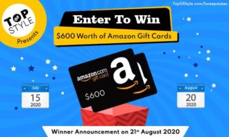 $300 or $100 Amazon Gift Card