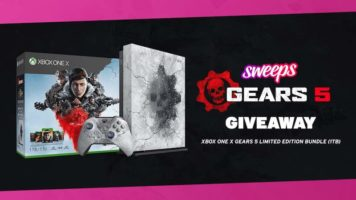 Xbox One X Gears 5 Bundle Limited Edition