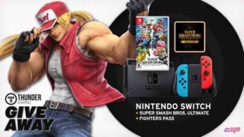 Nintendo Switch, Super Smash Bros. Ultimate, and Fighters Pass