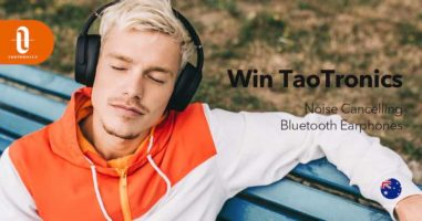 TaoTronics Noise Cancelling Bluetooth Headphones