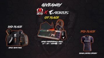 3x AORUS Gaming Bundles Giveaway header