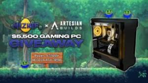 Gaming PC worth $5500