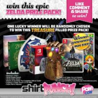 Nintendo Switch and Other Gaming Prizes