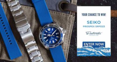 Seiko Watch and Flatwater Band