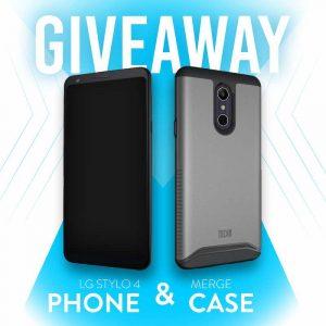 LG Stylo 4 Phone and TUDIA Merge Case