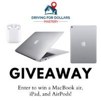 Apple MacBook Air, iPad, or AirPods