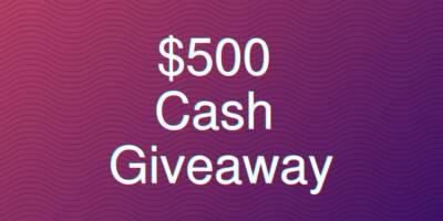 $500 Cash