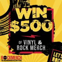 $500 to Spend at RockMerch