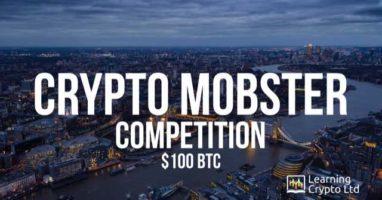 $100 in Bitcoin