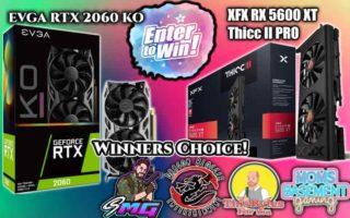 GeForce RTX 2060 KO Ultra or XFX RX 5600 XT Thicc II PRO