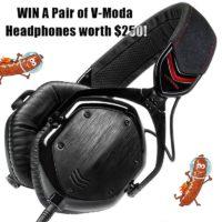 V-Moda Crossfade M100 Over-Ear Headphones - Best Of Gleam Giveaways