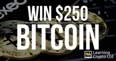 $250 in Bitcoin