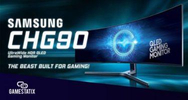 49-Inch CHG90 QLED Gaming Monitor Giveaway header
