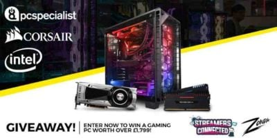 Gaming PC worth over £1k Giveaway header